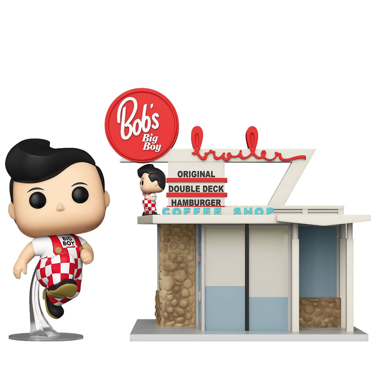 Bob's Big Boy Restaurant with Big Boy #22 Funko Pop! Town [PRE-ORDER] Pop! Town Funko