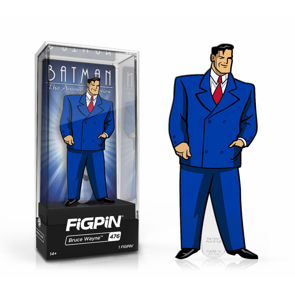 Bruce Wayne #476 Batman: The Animated Series FiGPiN Classic Limited Edition LE2000 [PRE-ORDER] FiGPiN Classic FiGPiN