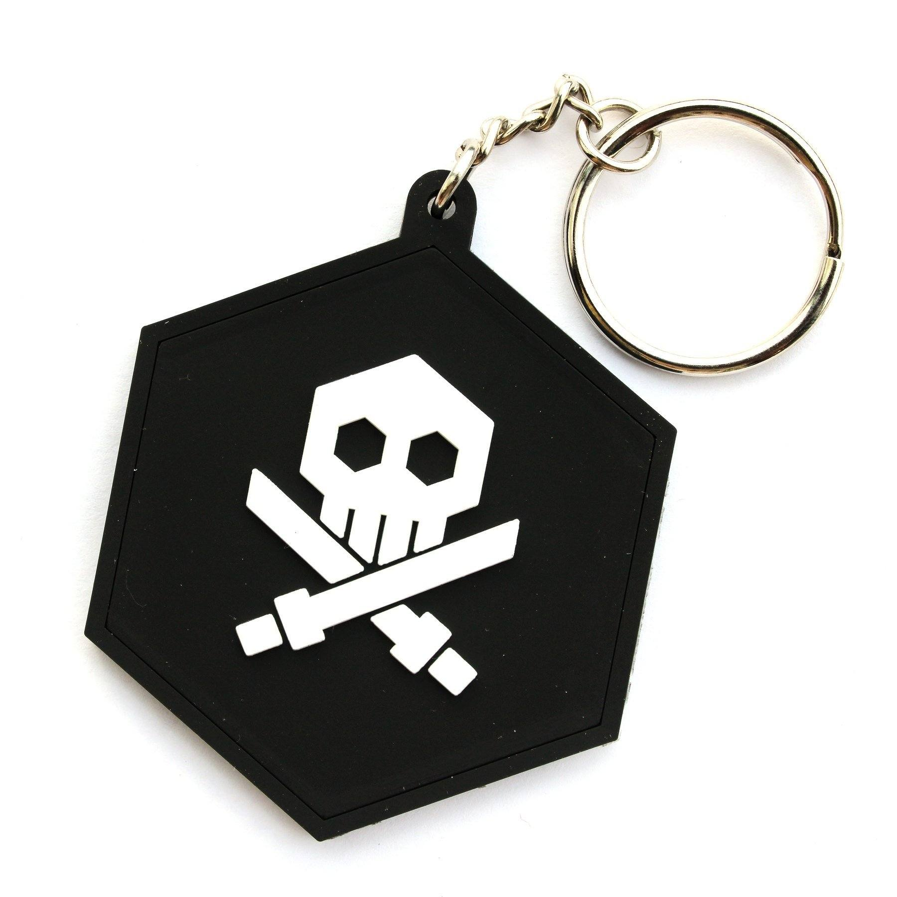 "Bulletpunk 2"" Rubber Keychain by Quiccs & Martian Toys Keychain Martian Toys"