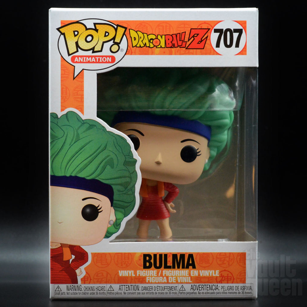 Bulma #707 Dragon Ball Z Funko POP! Animation Pop! Funko