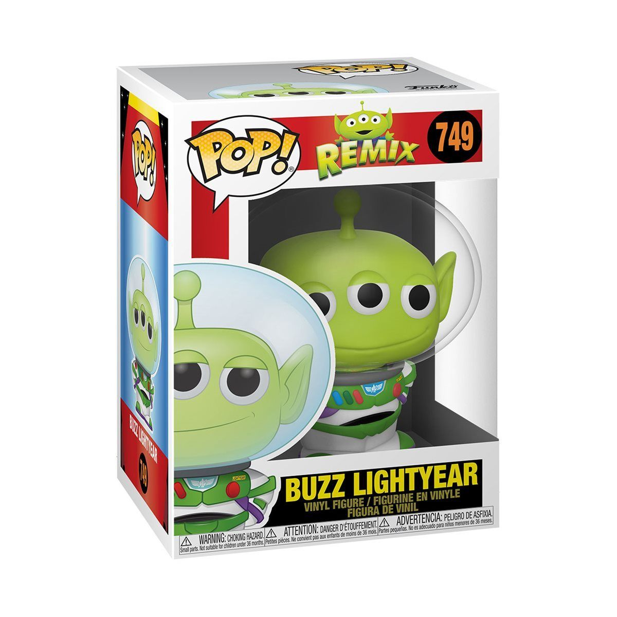 Buzz Lightyear #749 Toy Story Pixar Alien Remix Funko Pop! Disney [PRE-ORDER] Pop! Funko