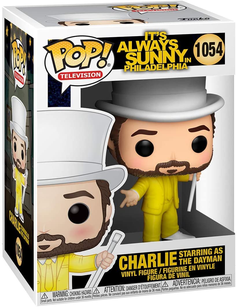 Charlie as The Dayman #1054 It's Always Sunny in Philadelphia Funko POP! Television [PRE-ORDER] Pop! Funko