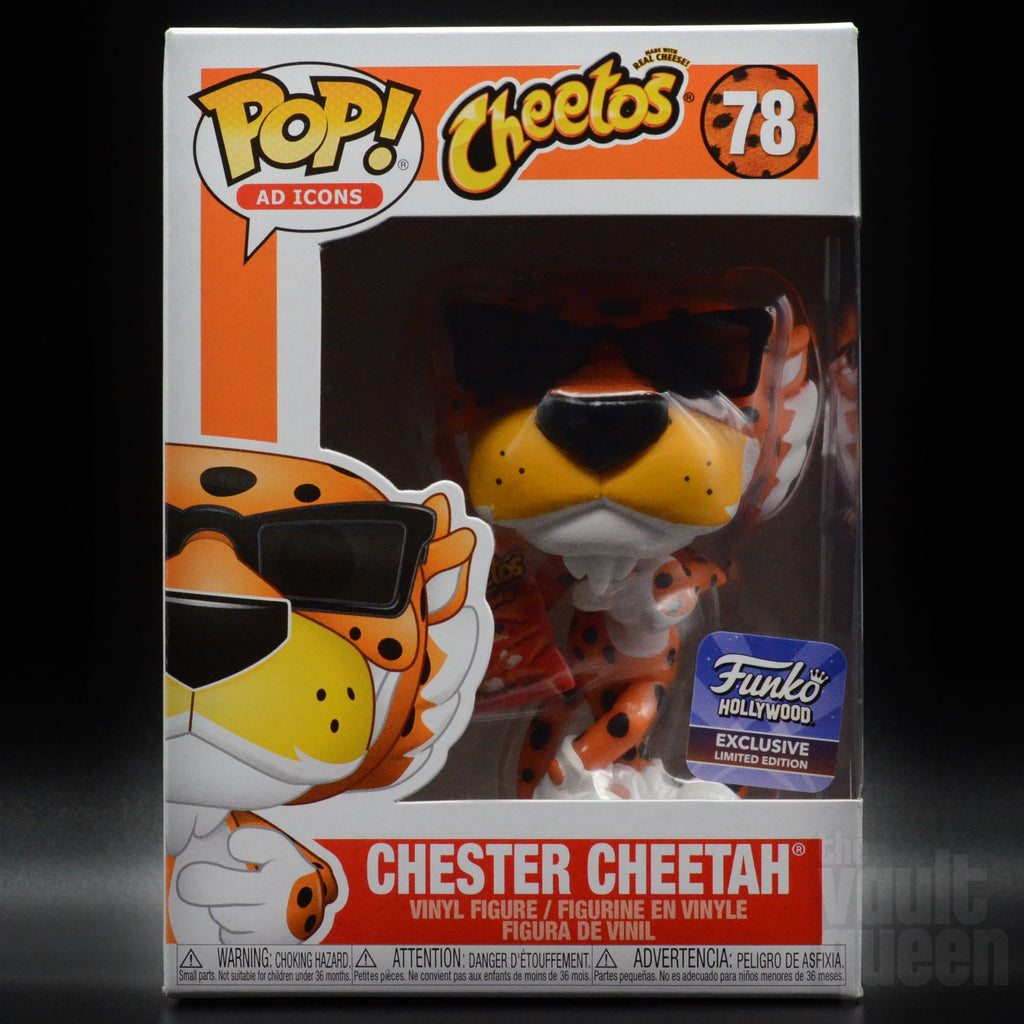 Chester Cheetah w/ Cheetos Bag #78 Funko Hollywood Grand Opening Exclusive Funko POP! Ad Icons Pop! Funko