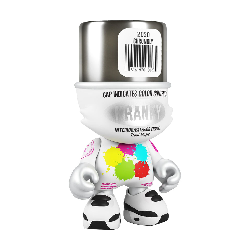 Chromoly Superkranky by Sket One & SuperPlastic 8-inch Vinyl Toy Superplastic