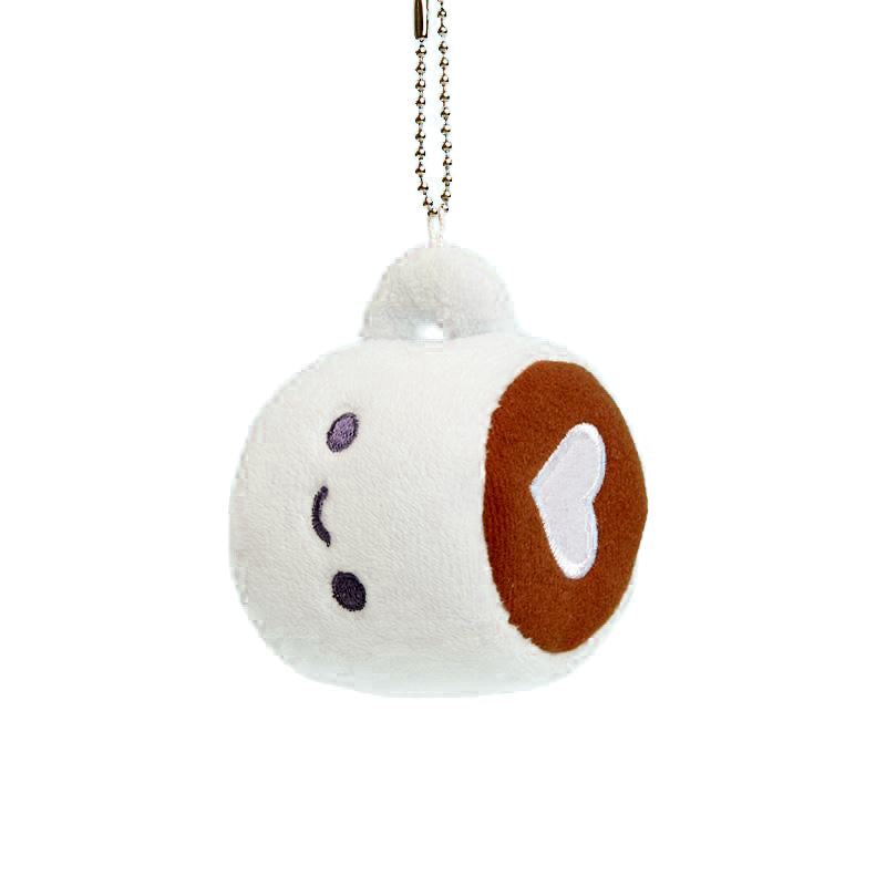 Coffee Plush Charm by 100% Soft Plush 100% Soft