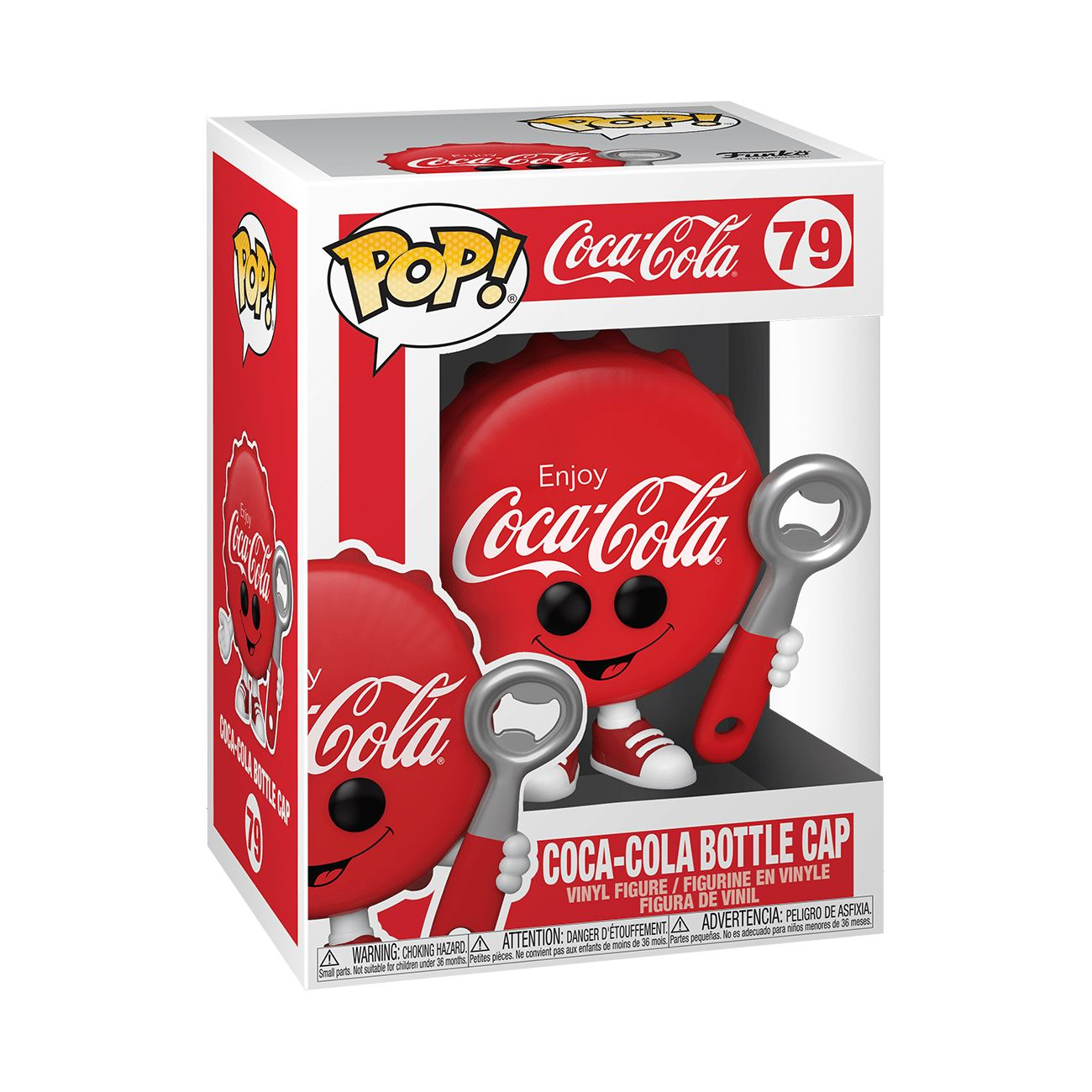 Coke Bottle Cap #79 Coca-Cola Funko POP! Ad Icons [PRE-ORDER] Pop! Funko
