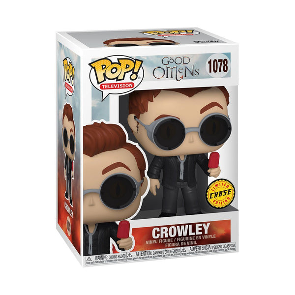 Crowley #1078 GUARANTEED CHASE BUNDLE! Good Omens Funko POP! TV [PRE-ORDER FOR APR 2021* DELIVERY] POP! Funko