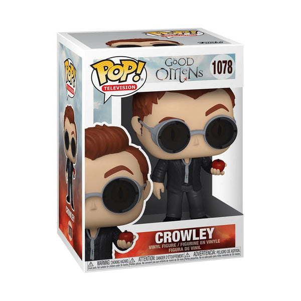 Crowley with Apple #1078 Good Omens Funko POP! TV [PRE-ORDER FOR APR 2021* DELIVERY] POP! Funko