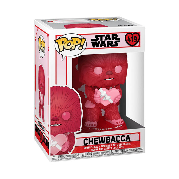Cupid Chewbacca #419 Valentines Funko POP! Star Wars [PRE-ORDER FOR FEB 2021* DELIVERY] POP! Funko