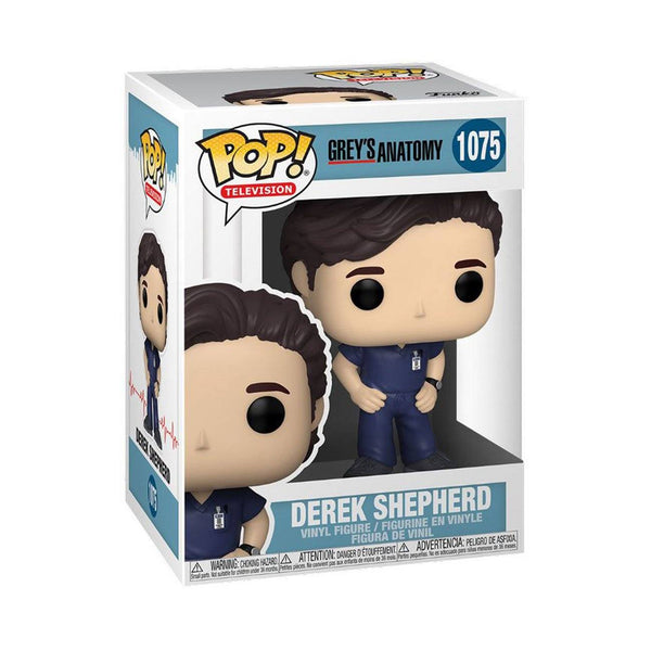 Derek Shepherd #1075 Grey's Anatomy Funko POP! TV [PRE-ORDER FOR JAN 2021* DELIVERY] POP! Funko