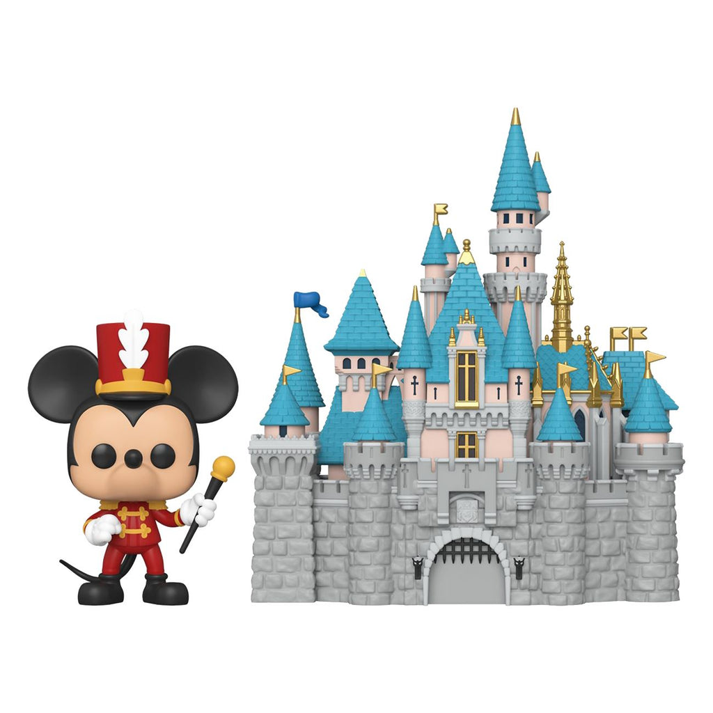 Disneyland 65th Anniversary Castle with Mickey Mouse Funko Pop! Town [PRE-ORDER] Pop! Town Funko