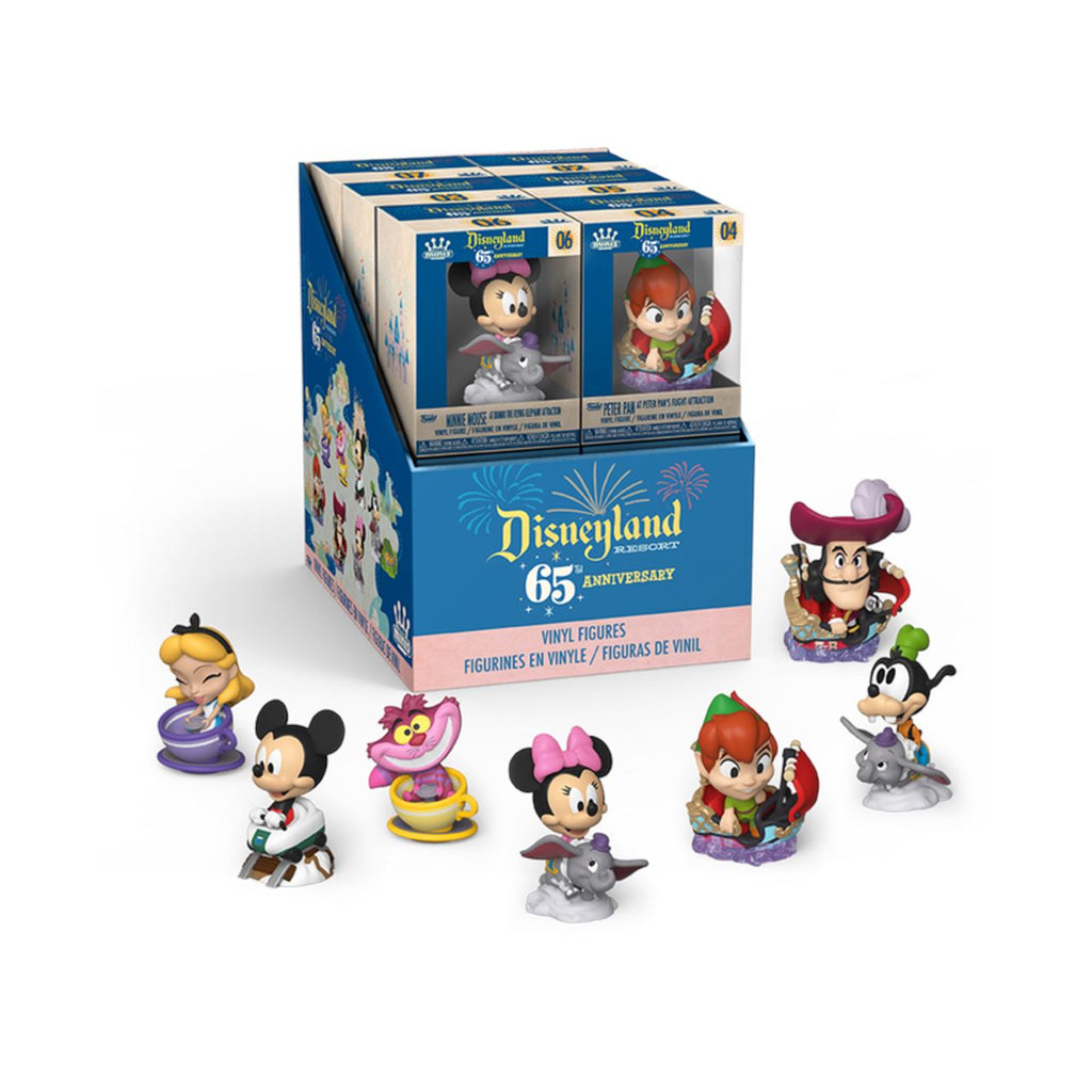 Disneyland 65th Anniversary Mystery Minis by Funko [PRE-ORDER] Blind Box Funko Sealed Case of 12 Mystery Minis