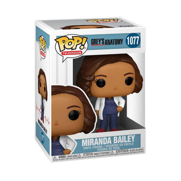 Dr. Miranda Bailey #1077 Grey's Anatomy Funko POP! TV [PRE-ORDER FOR JAN 2021* DELIVERY] POP! Funko