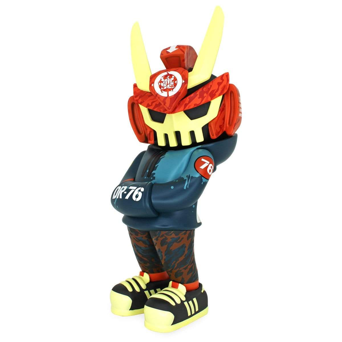 "DR76 MEGA TEQ63 12"" Vinyl Figure by Dragon76 x Quiccs x Martian Toys Quiccs MegaTEQ63 Martian Toys"