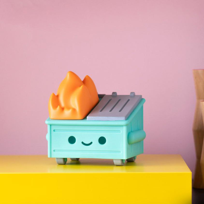 Dumpster Fire Night Light by 100% Soft [PRE-ORDER SHIPS IN DECEMBER] Dumpster Fire Night Light 100% Soft