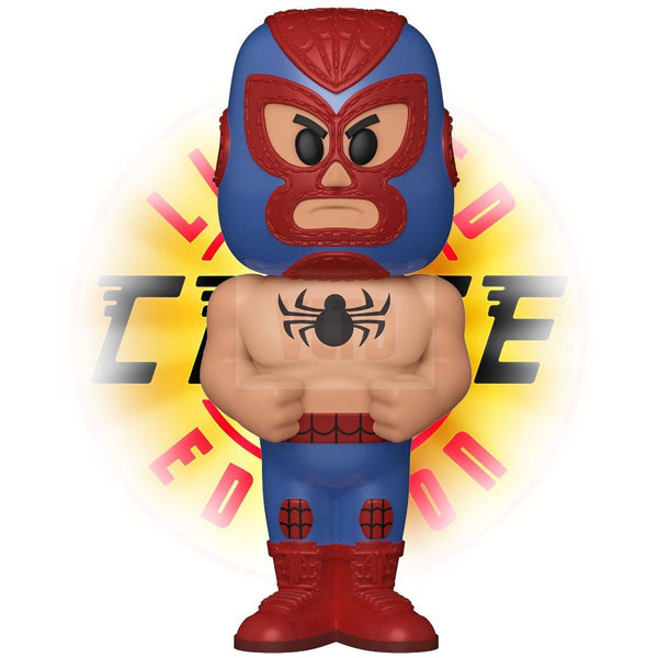 El Aracno (Spider-Man) 1:6 Chance at a Chase! Luchadores Funko Vinyl SODA LE15000 [PRE-ORDER FOR MAR 2021* DELIVERY] Vinyl SODA Funko