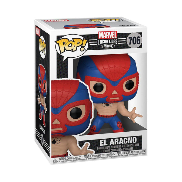 El Aracno (Spider-Man) #706 Luchadores Funko POP! Marvel [PRE-ORDER FOR FEB 2021* DELIVERY] POP! Funko