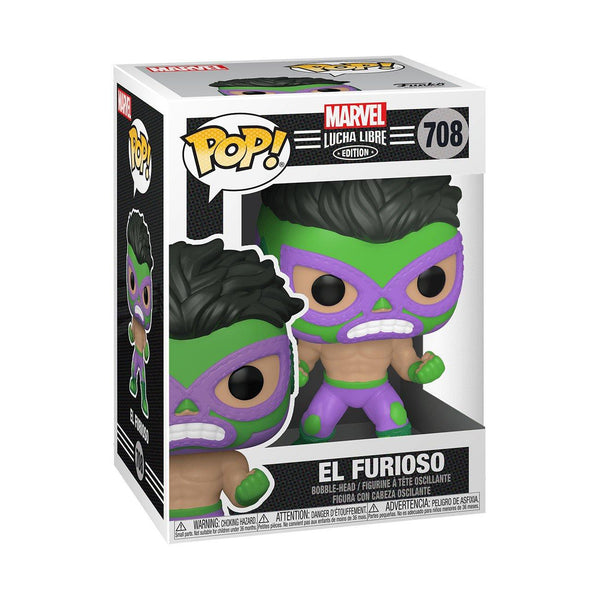 El Furioso (Hulk) #708 Luchadores Funko POP! Marvel [PRE-ORDER FOR FEB 2021* DELIVERY] POP! Funko
