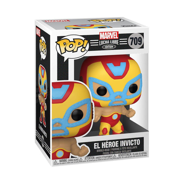 El Heroe Invicto (Iron Man) #709 Luchadores Funko POP! Marvel [PRE-ORDER FOR FEB 2021* DELIVERY] POP! Funko