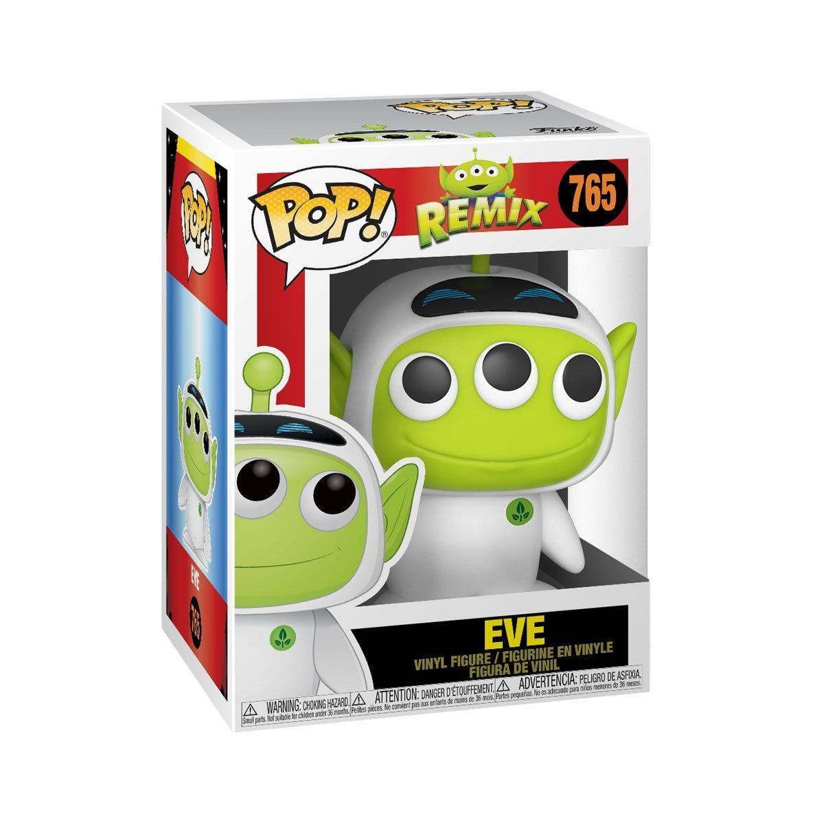 Eve #765 Wall-E Pixar Alien Remix Funko Pop! Disney [PRE-ORDER] Pop! Funko
