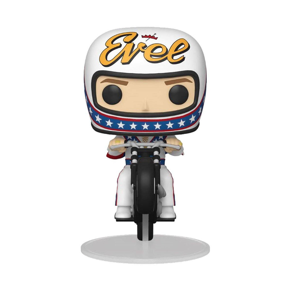 Evel Knievel on Motorcycle #101 Funko POP! Rides [PRE-ORDER FOR JAN 2021* DELIVERY] POP! Rides Funko