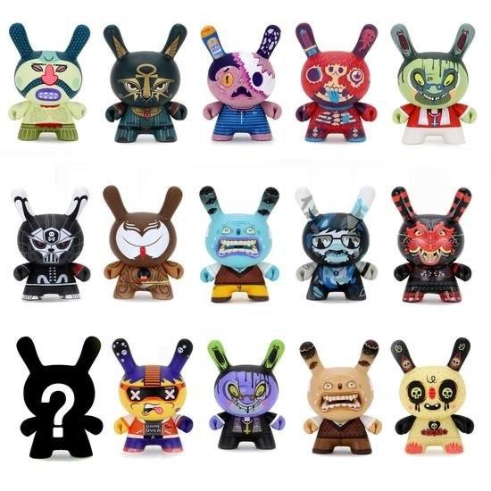 Exquisite Corpse Dunny Mini-Figure Blind Mystery Box by kidrobot Blind Box kidrobot