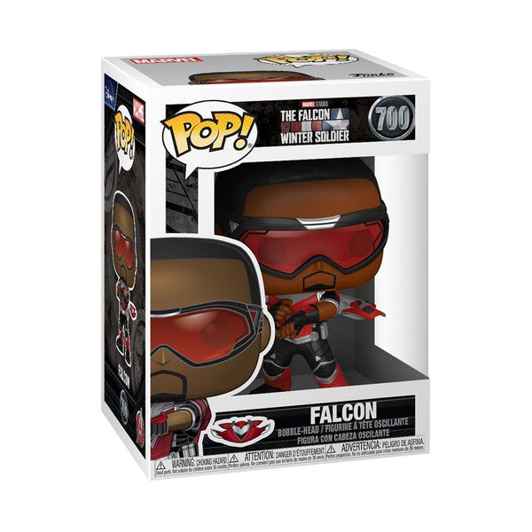 Falcon #700 The Falcon and Winter Soldier Funko POP! Marvel [PRE-ORDER FOR JAN 2021* DELIVERY] POP! Funko