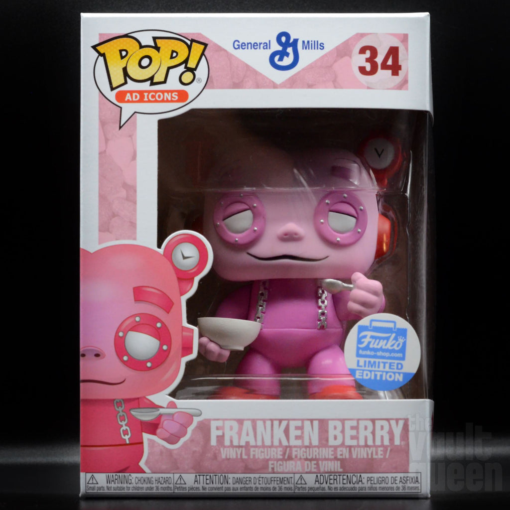 Franken Berry (Eating Cereal) #34 Funko Shop Exclusive Funko POP! Ad Icons Pop! Funko