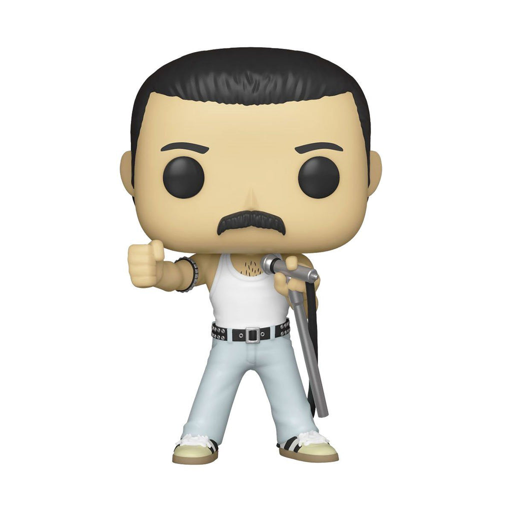 Freddie Mercury (Radio Gaga 1985) #183 Queen Funko POP! Rocks [PRE-ORDER FOR JAN 2021* DELIVERY] POP! Funko