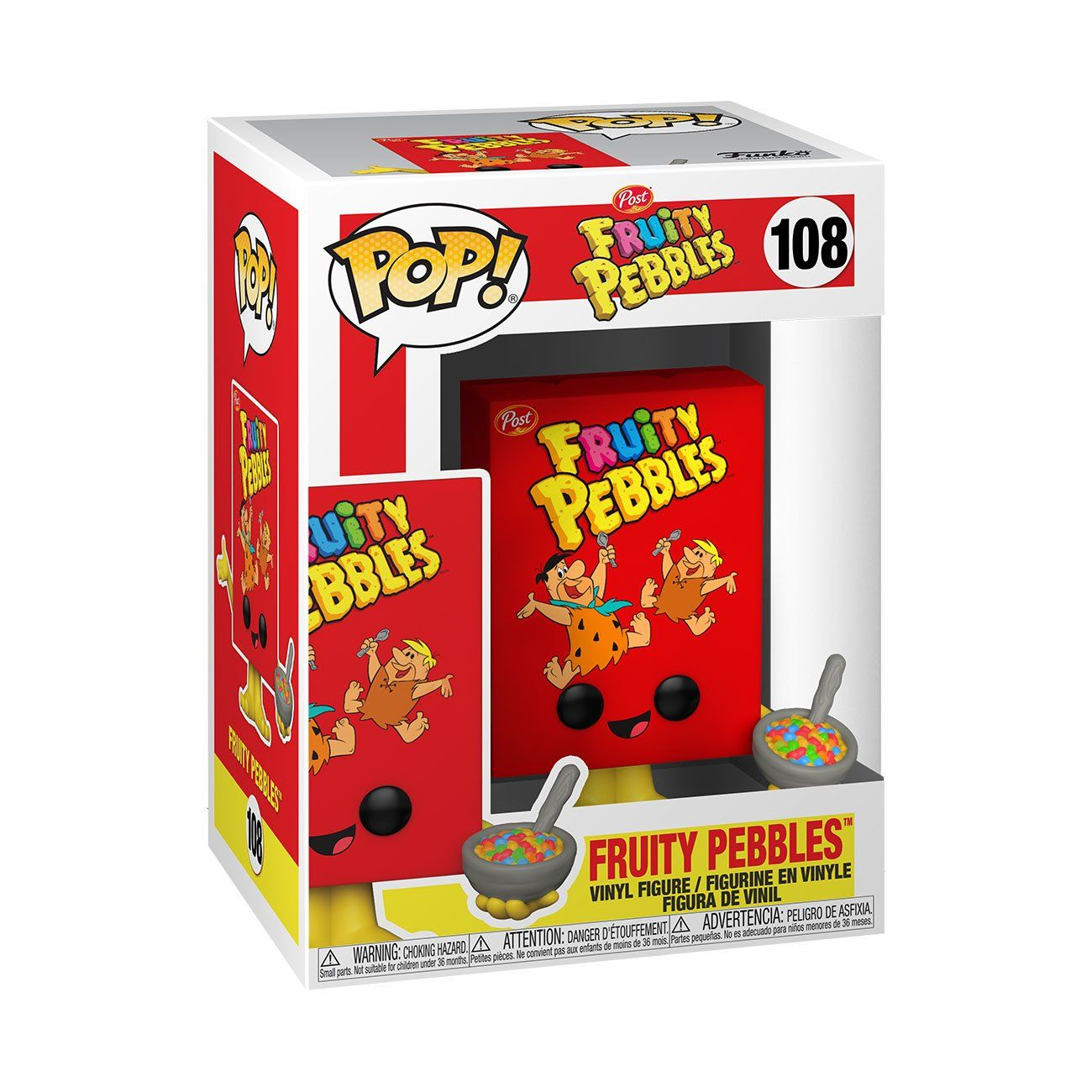Fruity Pebbles Cereal Box #108 Post Funko POP! Ad Icons [PRE-ORDER FOR ESTIMATED SUMMER 2021* DELIVERY] POP! Funko