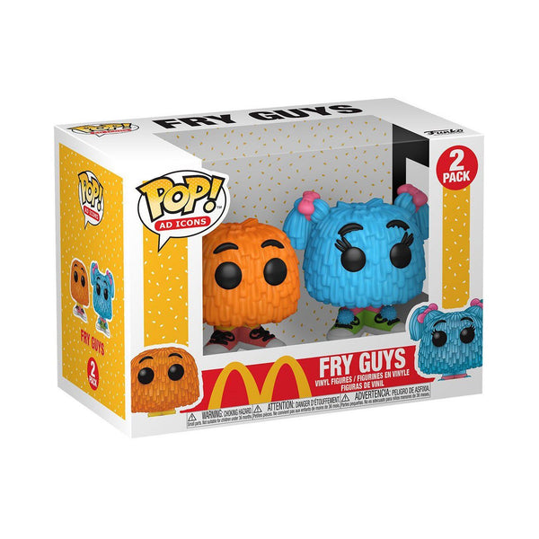 Fry Guys (Orange/Blue) McDonalds Funko POP! 2-Pack Ad Icons [PRE-ORDER FOR JAN 2021* DELIVERY] POP! 2-Pack Funko
