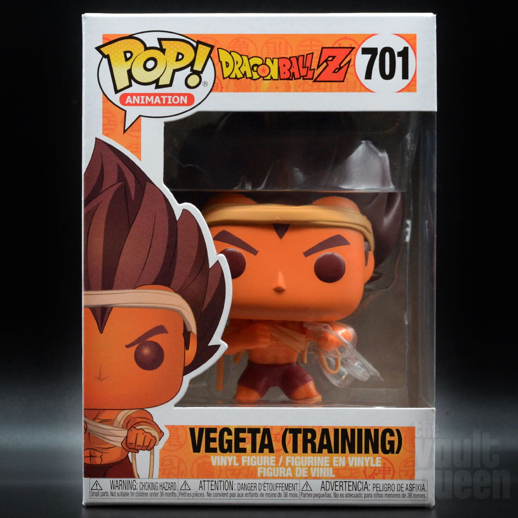 Funko POP! Animation: Dragonball Z - Vegeta (Training) #701 Pop! Funko