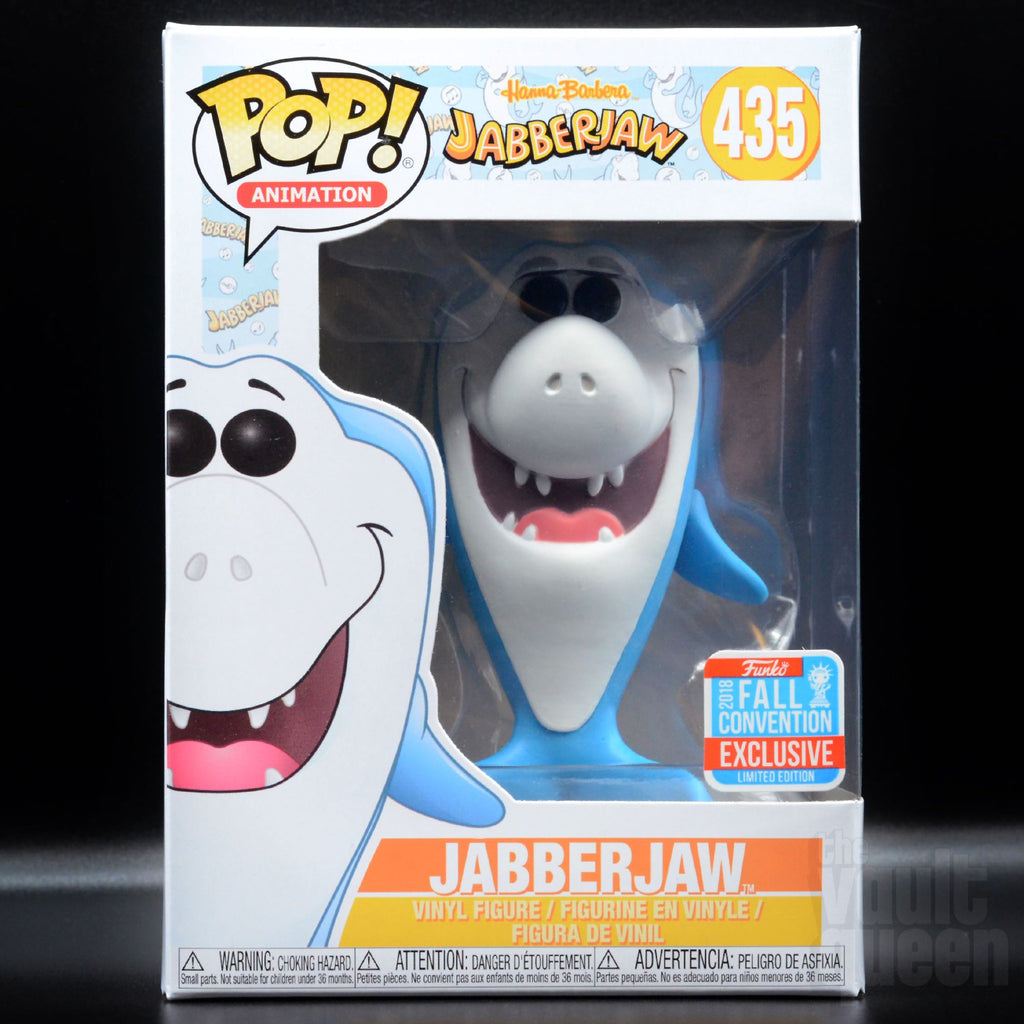 Funko POP! Animation: Hanna Barbera Jabberjaw #485 Funko Shop NYCC 2018 Exclusive Pop! Funko