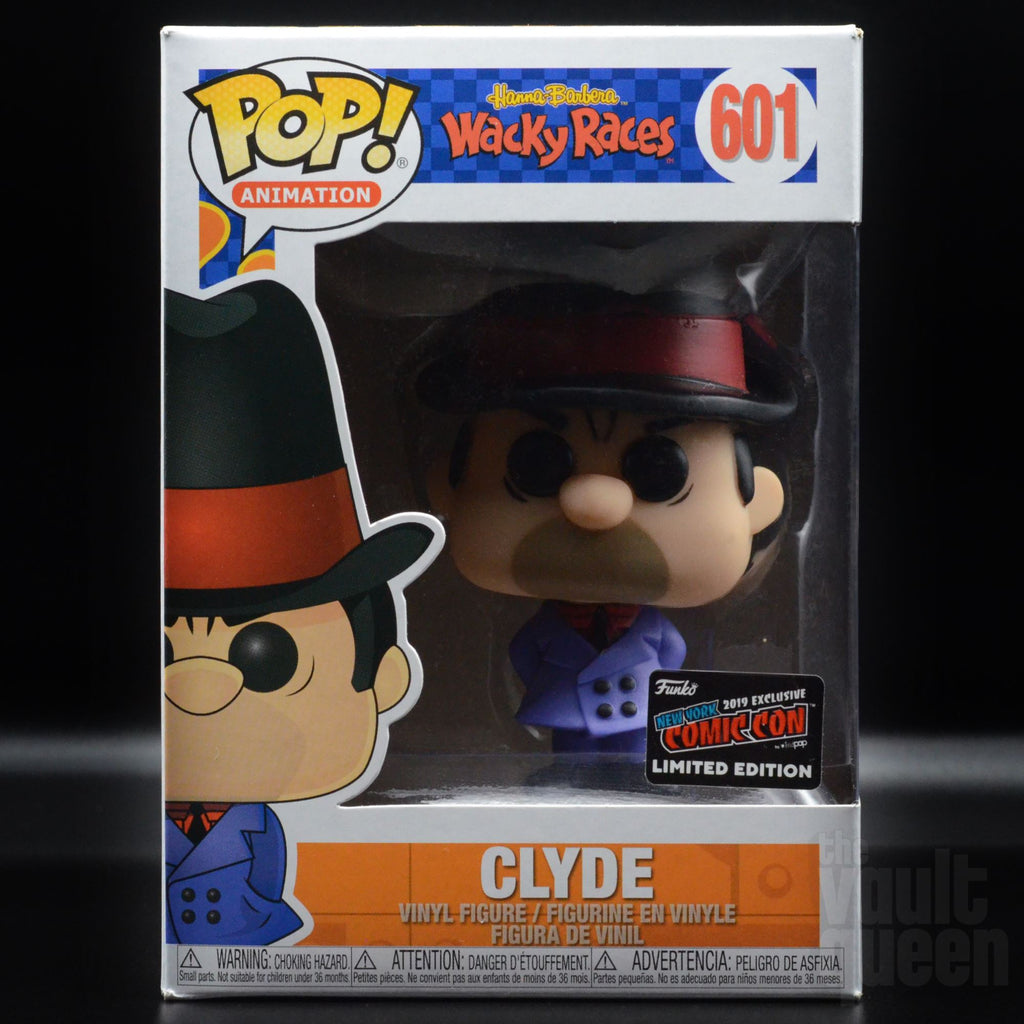 Funko POP! Animation: Hanna Barbera Wacky Races - Clyde #601 NYCC 2019 Exclusive Pop! Funko