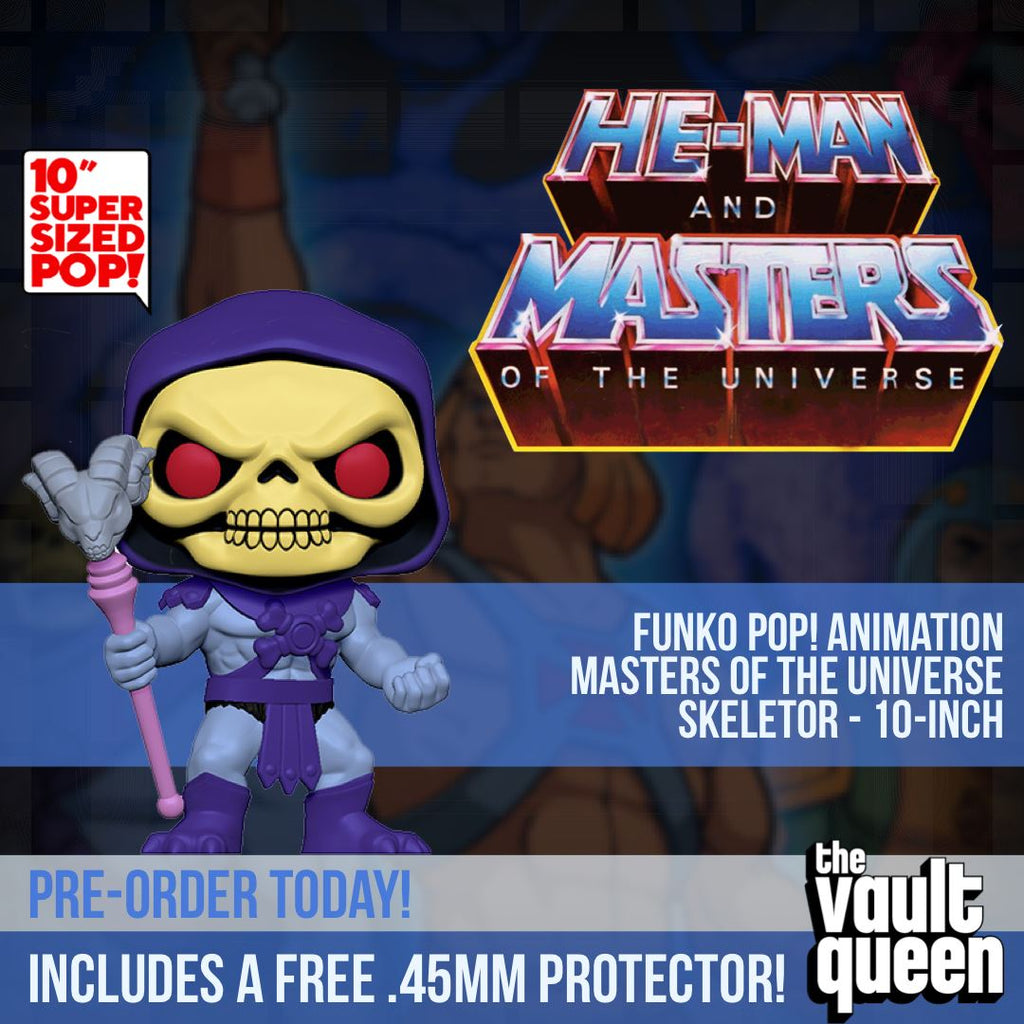 "Funko POP! Animation: Masters of the Universe - Skeletor 10"" Super-Sized Pop! Pop! (10 Inch) Funko"