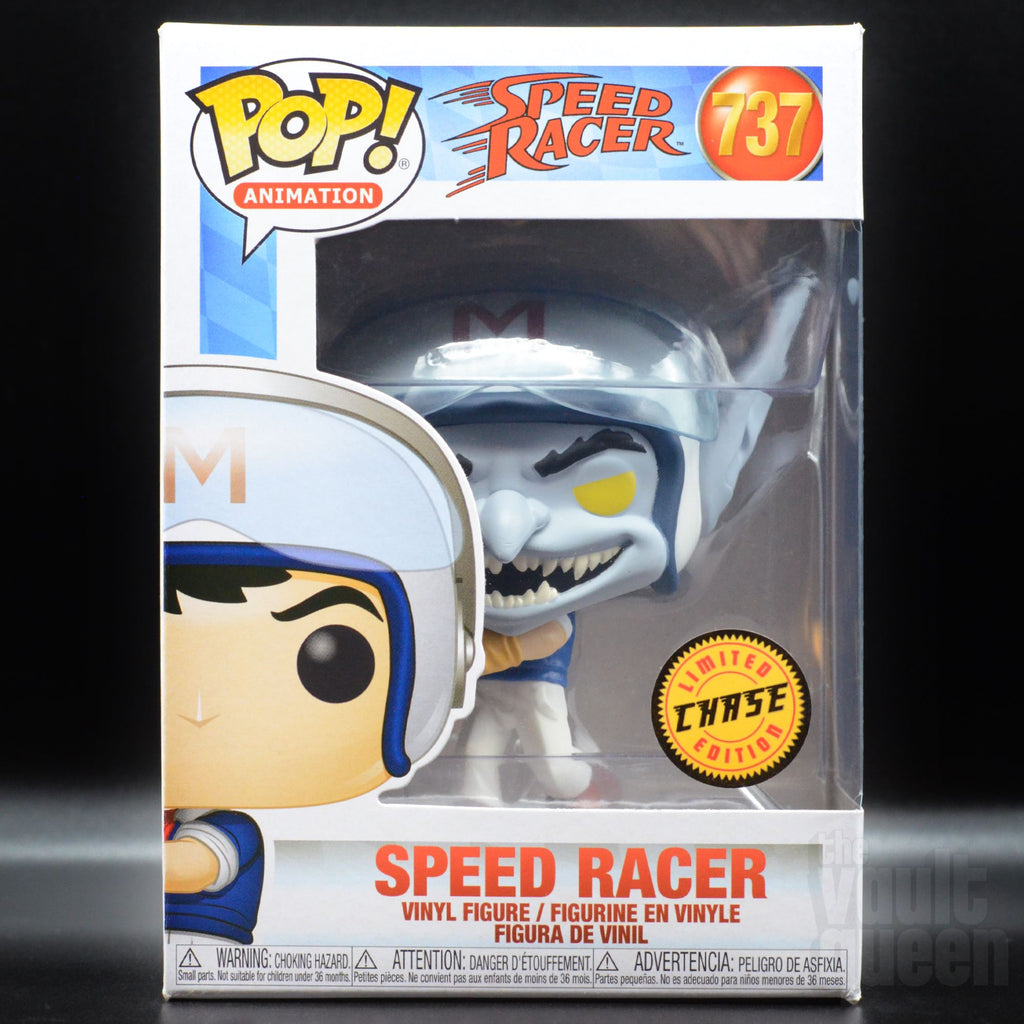 Funko POP! Animation: Speed Racer - Speed with Helmet (Chase) #737 Pop! Funko
