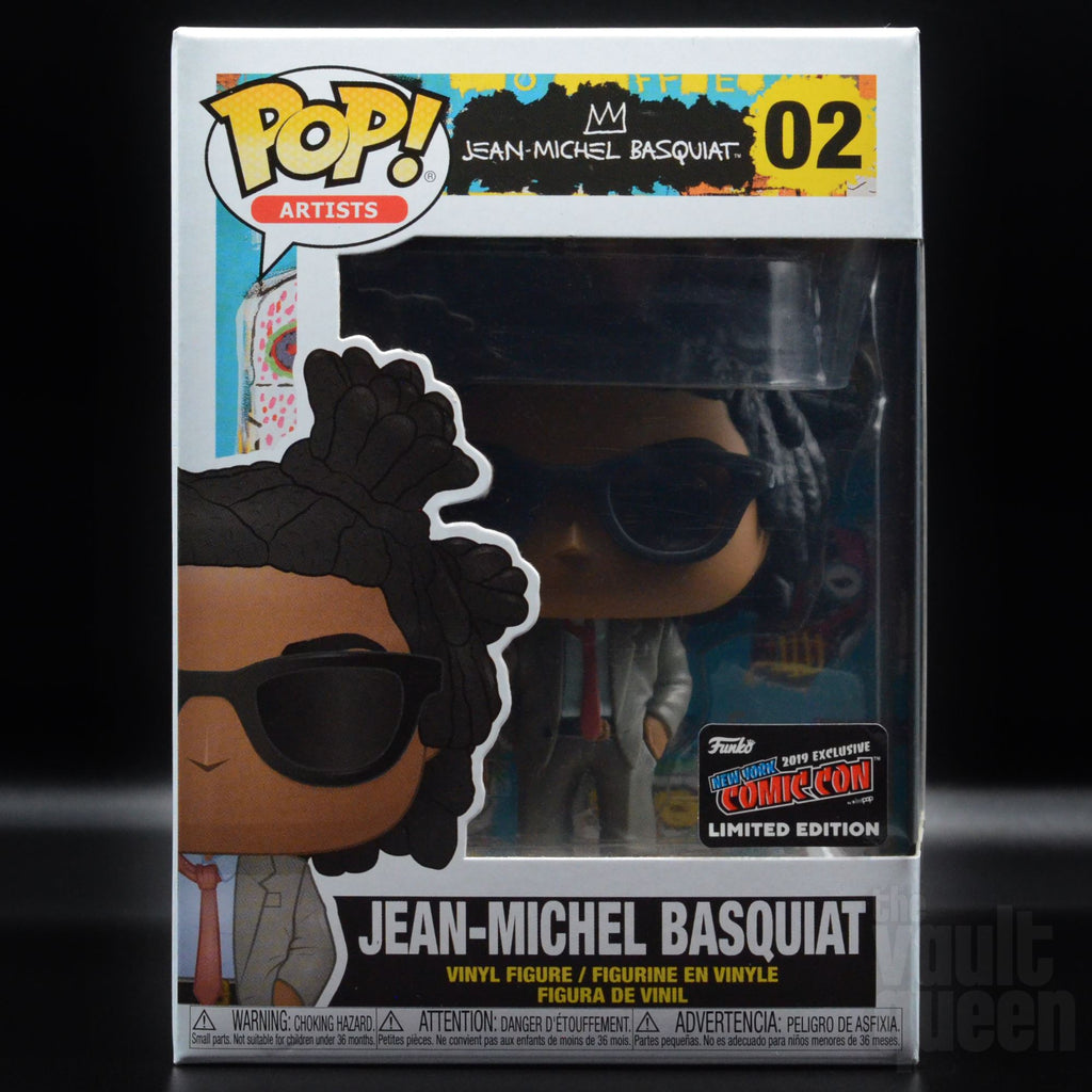 Funko POP! Artists Jean-Michel Basquiat #02 NYCC 2019 Exclusive Pop! Funko