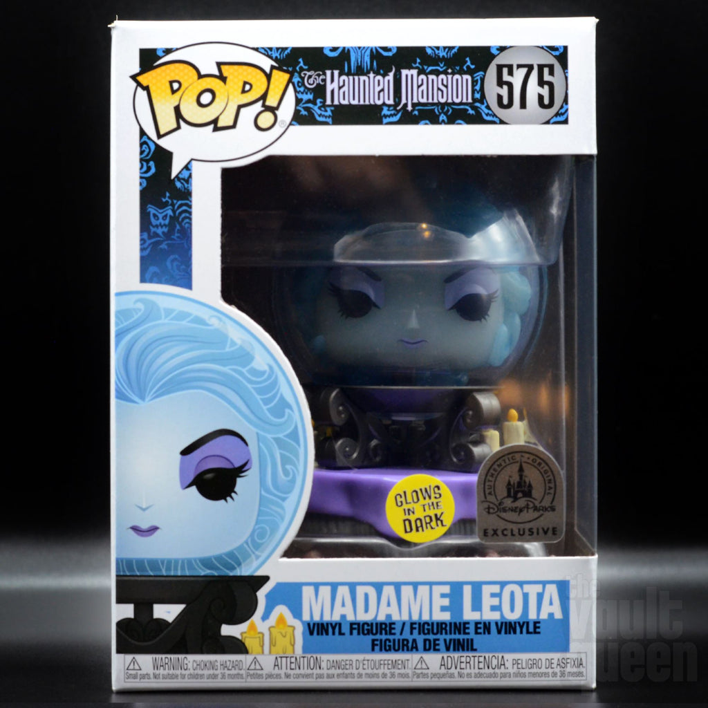 Funko POP! Disney: Haunted Mansion Madame Leota GITD #575 Parks Exclusive Pop! Funko