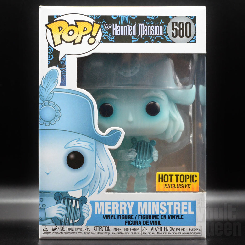 Funko POP! Disney: Haunted Mansion Merry Minstrel #580 Hot Topic Exclusive Pop! Funko