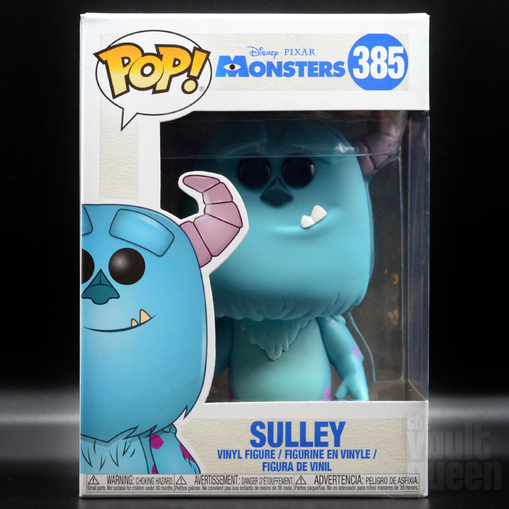 Funko Pop! Disney: Monsters Inc. Sulley #385 Pop! Funko