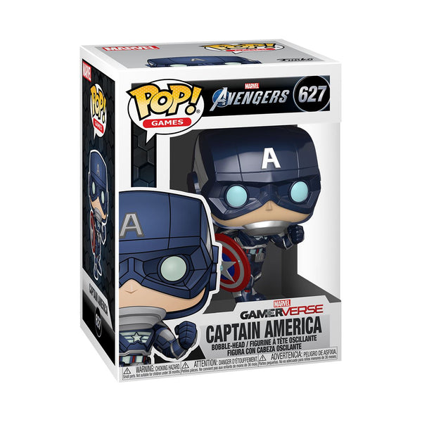 Funko Pop! Games: Marvel Avengers - Captain America #627 (Stark Tech Suit) Pop! Funko