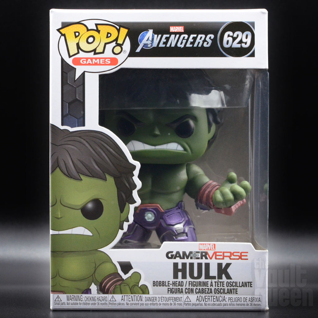 Funko POP! Games: Marvel Avengers - Hulk #629 (Stark Tech Suit) Pop! Funko
