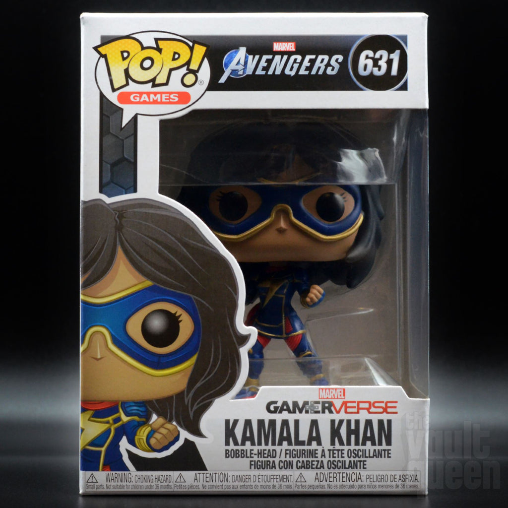 Funko Pop! Games: Marvel Avengers - Kamala Khan #631(Stark Tech Suit) Pop! Funko