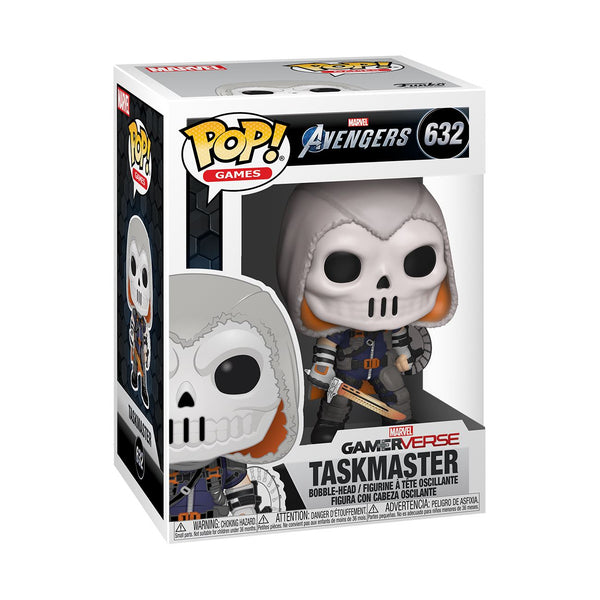 Funko Pop! Games: Marvel Avengers - TaskMaster #632 Pop! Funko