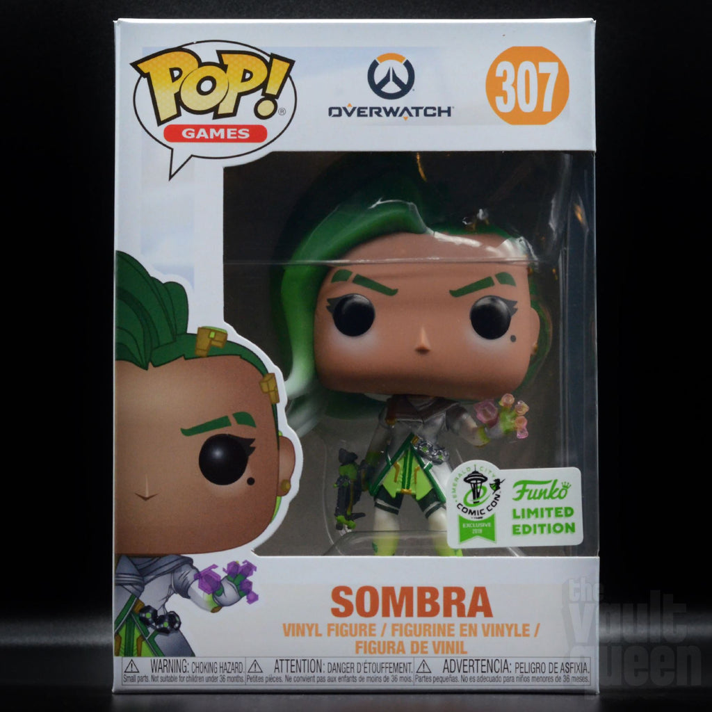 Funko Pop! Games Overwatch Sombra (Glitch) #307 ECCC 2019 Exclusive Pop! Funko