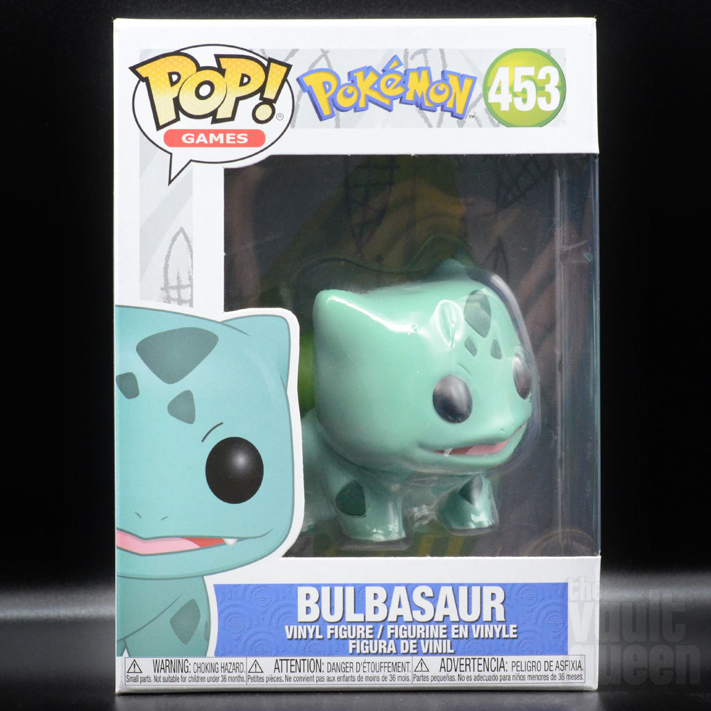 Funko Pop! Games: Pokemon- Bulbasaur #453 Pop! Funko