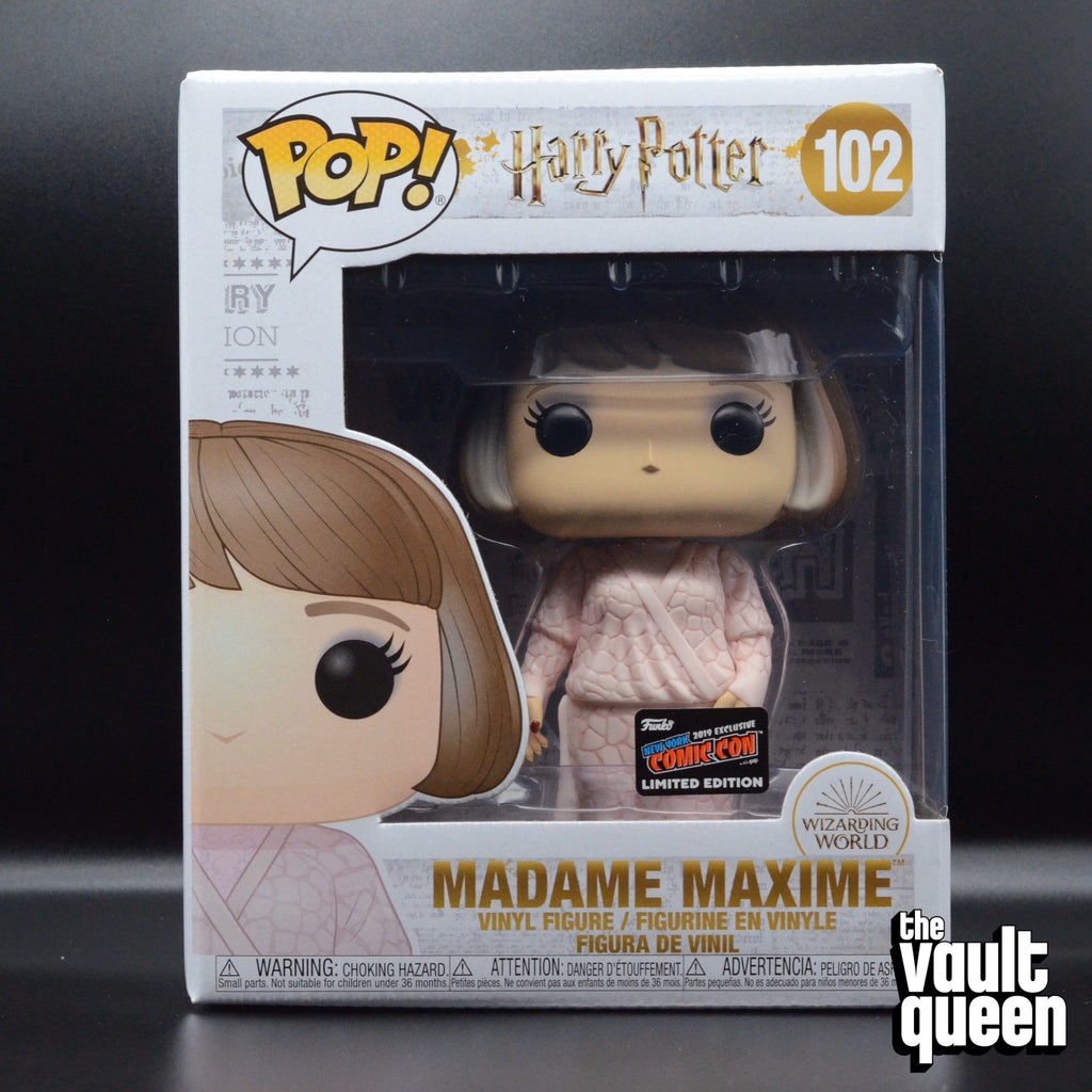 "Funko Pop! Harry Potter Madame Maxime #102 6"" Super-Sized Pop! NYCC 2019 Exclusive Pop! (6 Inch) Funko"