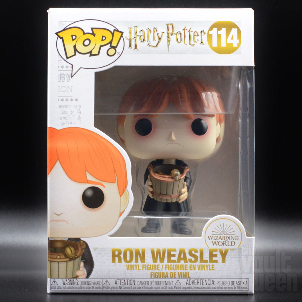Funko POP! Harry Potter: Ron with Slug Bucket#114 Pop! Funko