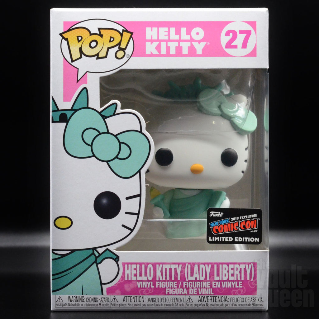Funko Pop! Hello Kitty (Lady Liberty) #27 NYCC 2019 Exclusive Pop! Funko