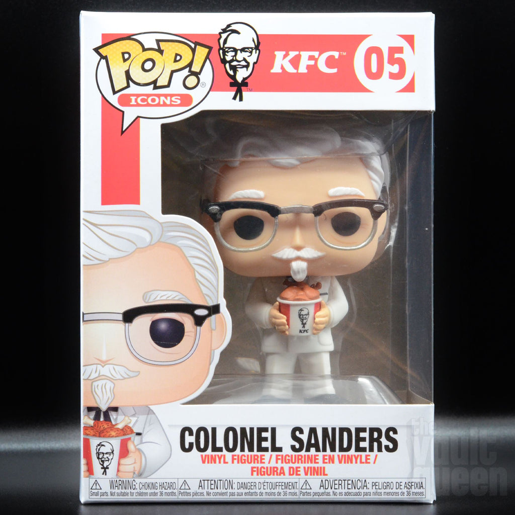 Funko Pop! Icons Colonel Sanders (Holding Bucket of Chicken) #05 Pop! Funko